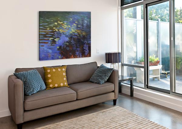 WATERLILIES ALISON COTE  Canvas Print