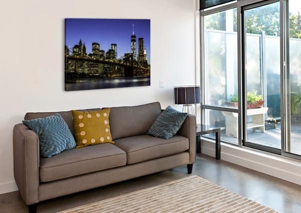 NY CITY LIGHTS  SEBASTIAN DIETL  Canvas Print