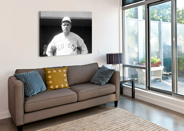 1919 BABE RUTH  ROW ONE BRAND  Canvas Print