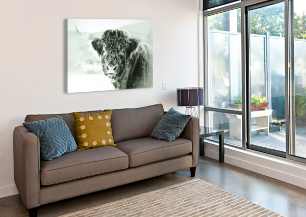 GROSSE BETE GUYLAINE CHAREST ARTISTE PHOTOGRAPHE  Canvas Print