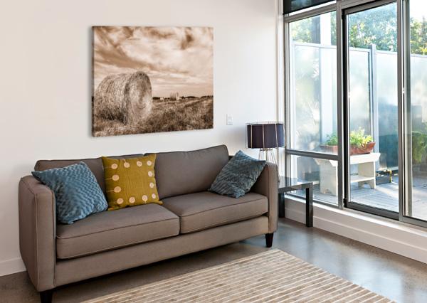 LE TEMPS DES FOINS GUYLAINE CHAREST ARTISTE PHOTOGRAPHE  Canvas Print