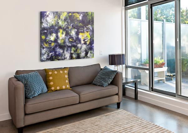 DISBONDED GINA LAFONT  Canvas Print