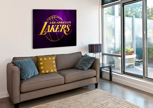 LAKERS ABCONCEPTS  Canvas Print