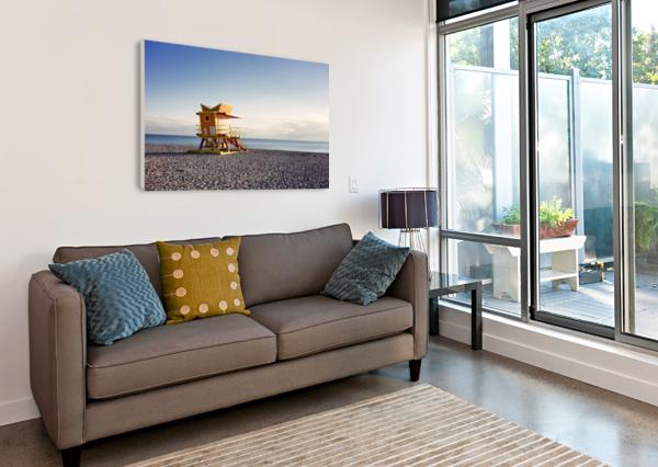 MIAMI BEACH 105 CHARLES PERTWEE  Canvas Print