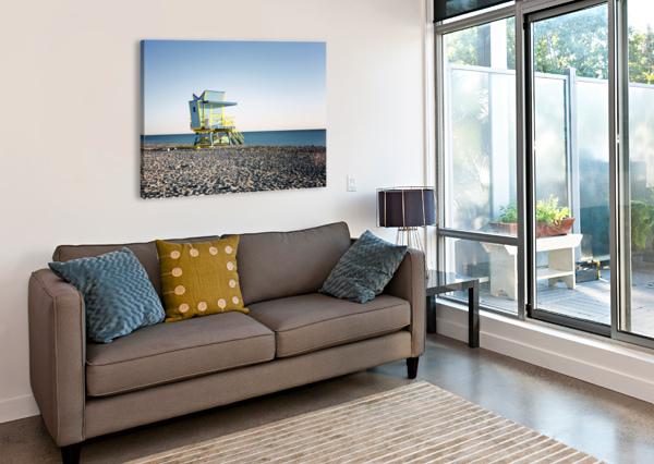 MIAMI BEACH 075 CHARLES PERTWEE  Canvas Print