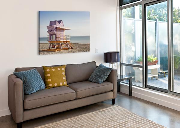 MIAMI BEACH 056 CHARLES PERTWEE  Canvas Print