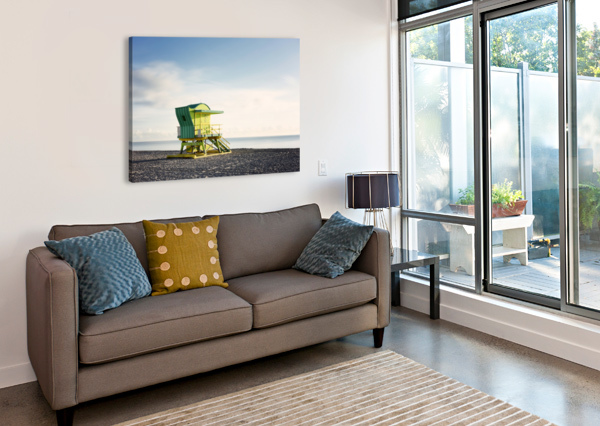 MIAMI BEACH 048 CHARLES PERTWEE  Canvas Print