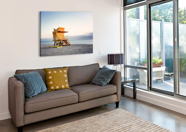 MIAMI BEACH 0280 CHARLES PERTWEE  Canvas Print