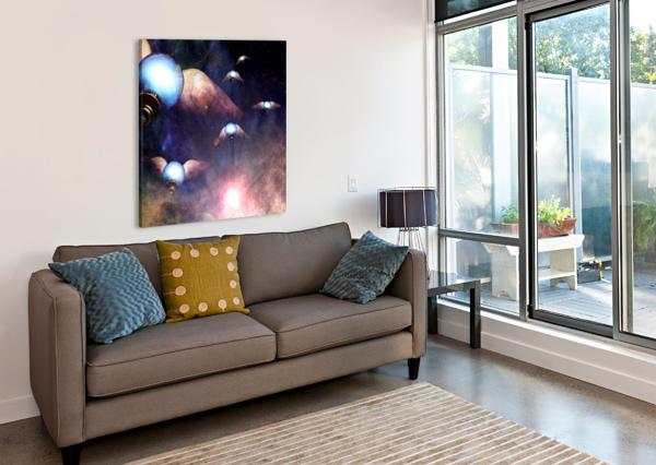 WINGED LIGHT BULBS BRUCE ROLFF  Canvas Print