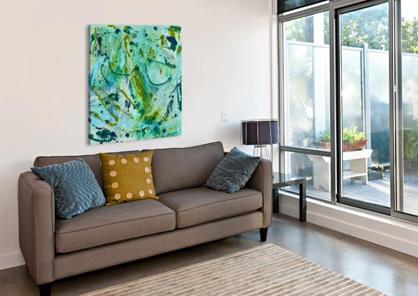 SEAWEED CONFETTI DIANNE BARTLETT  Canvas Print