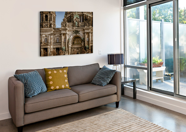 BERLIN CATHEDRAL BUILDING_1588539606.9187 SHAMUDY  Canvas Print