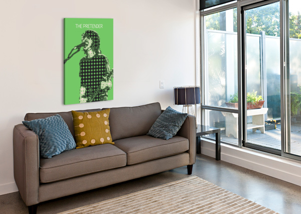 THE PRETENDER   DAVE GROHL GUNAWAN RB  Canvas Print