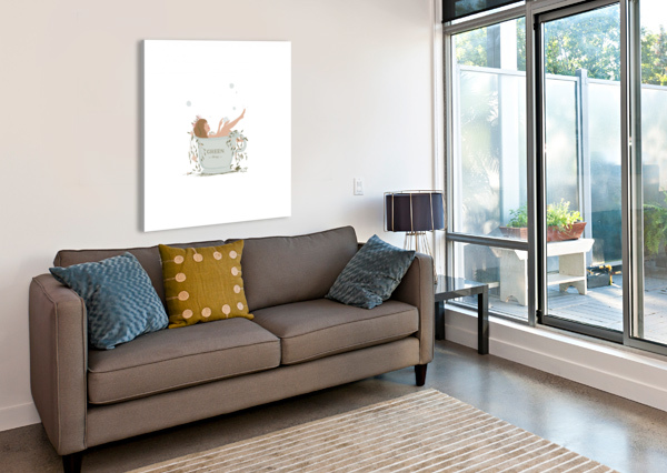 GREENTHERAPY BYLAETI  Canvas Print