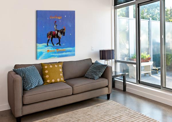 GOOD KNIGHT  SWEET DREAMS JACQUELINE SLETER  Canvas Print
