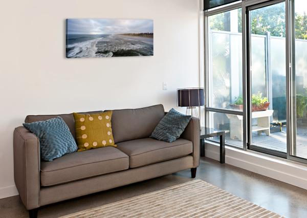 HUNTINGTON BEACH PANORAMA DAVID YOON  Canvas Print