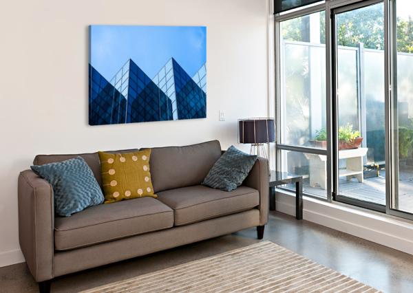 REFLECTIONS DAVID YOON  Canvas Print