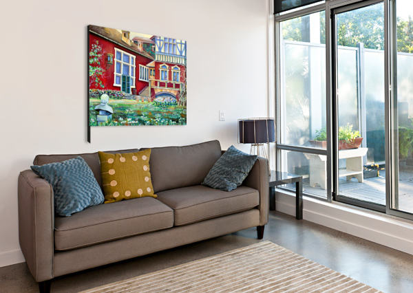 SEAMLESS BUTTERFLIES PATTERN  NISURIS ART  Canvas Print