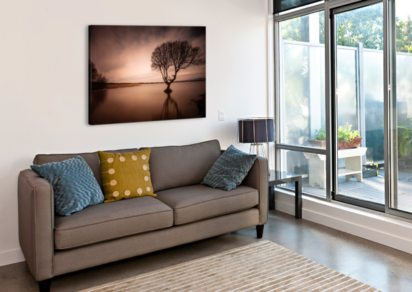 THE KENFIG TREE LEIGHTON COLLINS  Canvas Print