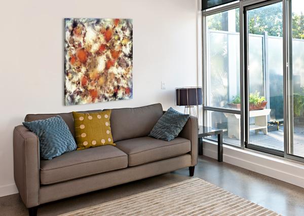 TERRACOTTA TUMBLE KEITH MILLS  Canvas Print