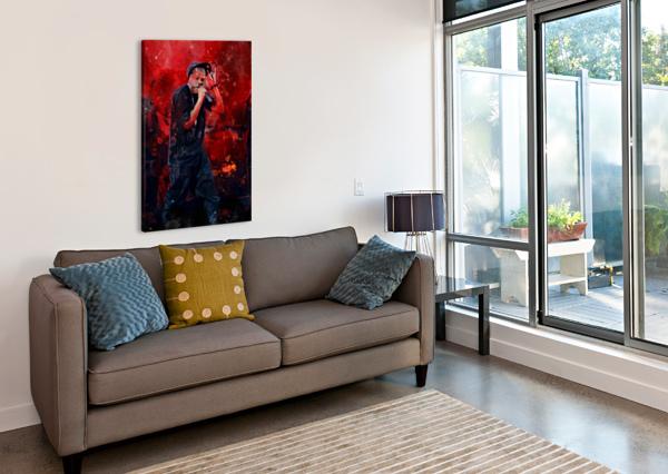 13 ARTWORK POSTER  Canvas Print