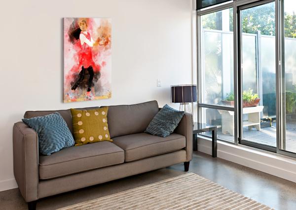 GIANA ARTWORK POSTER  Canvas Print