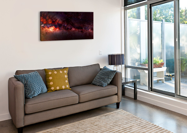 HYMN OF THE COSMOS MUMBLEFOOT  Canvas Print