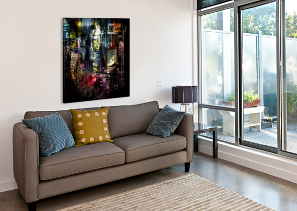 IN THE HEART OF THE CITY BRUCE ROLFF  Canvas Print