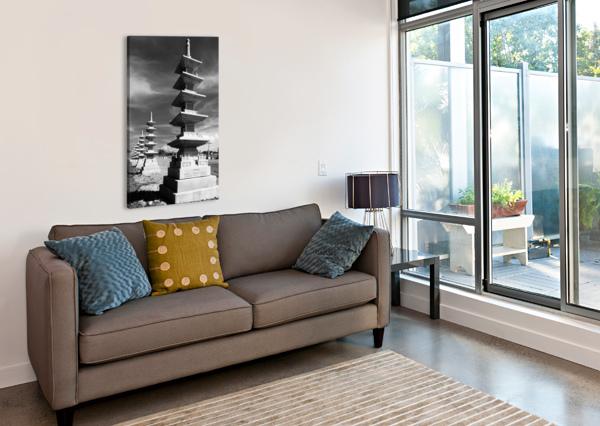 VANISHING TOWERS OF WUTAI SHAN MUMBLEFOOT  Canvas Print