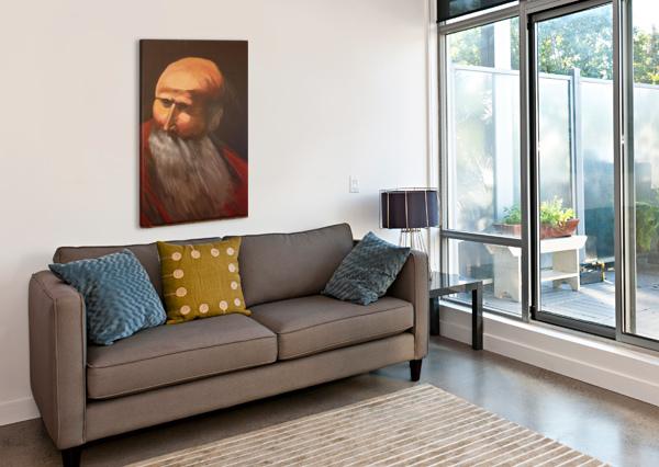 ABRAHAM SHANKAR KASHYAP  Canvas Print