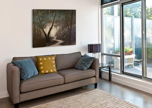 IDYLL SHANKAR KASHYAP  Canvas Print