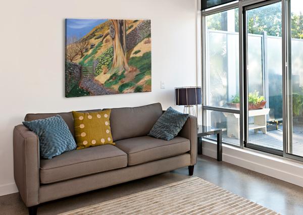 PATH TO RYDAL MOUNT SHANKAR KASHYAP  Impression sur toile