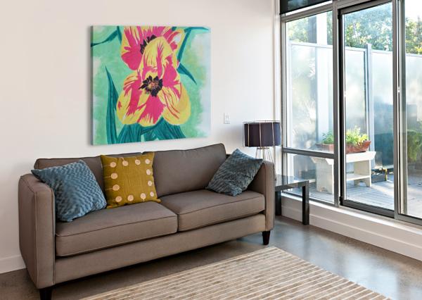 FLOWERS1 SHANKAR KASHYAP  Canvas Print