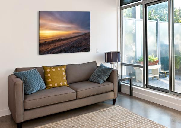 GLOWING AT LA BLOC - CBHNP MICHEL SOUCY  Canvas Print