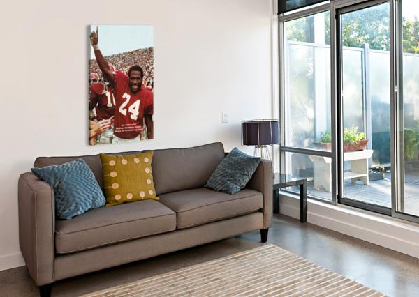 1974 OKLAHOMA SOONERS FOOTBALL NATIONAL CHAMPIONS POSTER SPORTS WALL ART ROW ONE BRAND  Canvas Print
