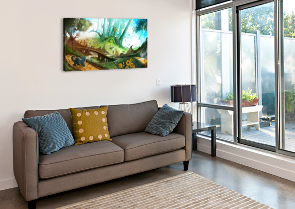LOOKING FOR DOROTHY LUIS F  PERES  Canvas Print