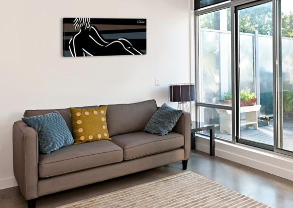 NUDE 4 ALEXANDER CHUBAR  Canvas Print