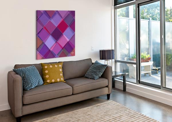 MIXART07 KHALID SELMANE FARES  Canvas Print