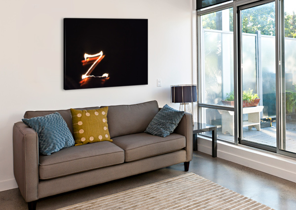 LETTER Z  JOHNNYPHOTOFREAK  Canvas Print