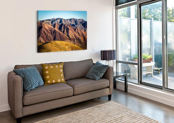 DEATH VALLEY MOUNTAIN JOHNNYPHOTOFREAK  Canvas Print