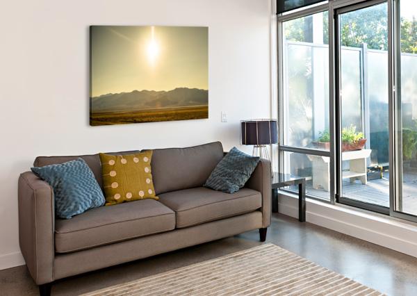 DESERT SUN  JOHNNYPHOTOFREAK  Canvas Print