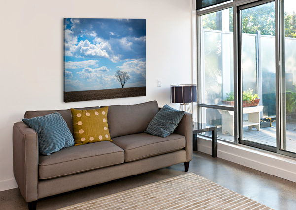 ALONE WITH MY THOUGHTS MUMBLEFOOT  Canvas Print