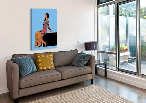 WISHLIST ARTISTIC  Canvas Print