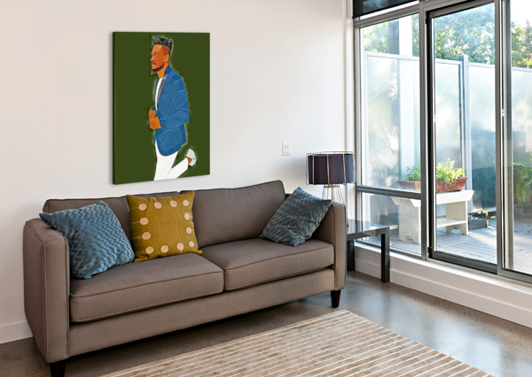RAPPER ARTISTIC  Canvas Print