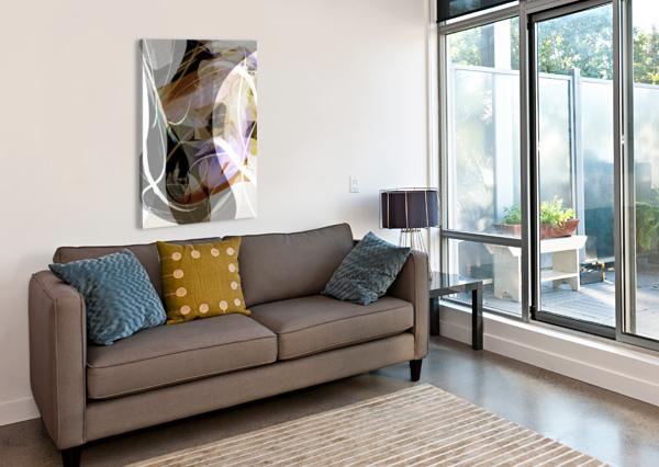 A M U BRUCE CARLSON  Canvas Print