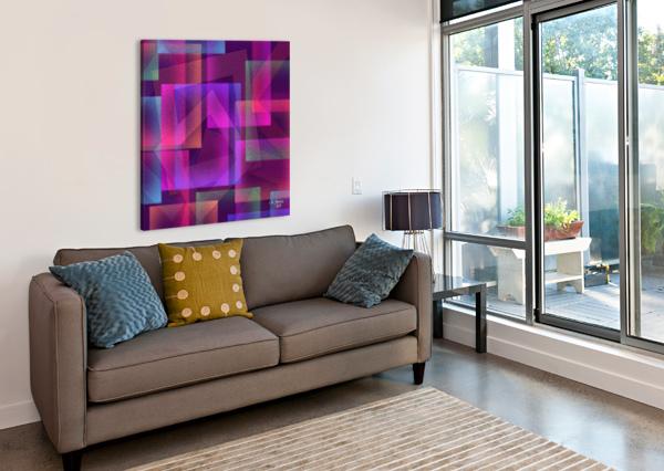 ART A MIX37 KHALID SELMANE FARES  Canvas Print
