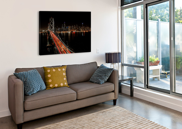 SINNER CITY JONGAS PHOTO  Canvas Print