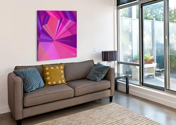 ABSRACT A MIX65 KHALID SELMANE FARES  Canvas Print