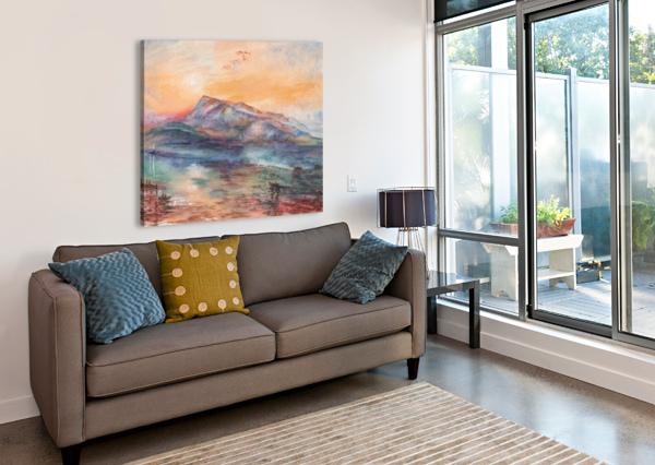 MOUNT RIGI SWITZERLAND LAKE IRINA SZTUKOWSKI  Canvas Print