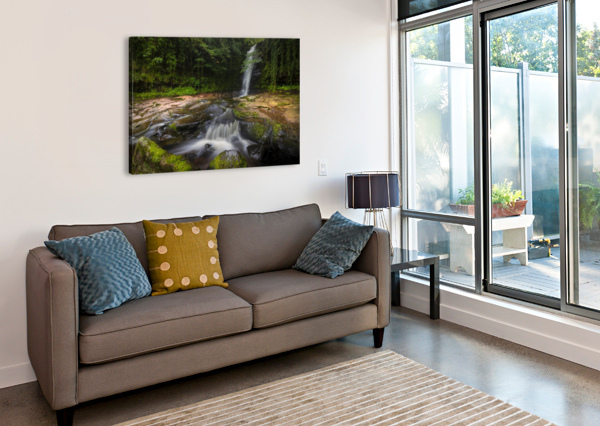 THE BEAUTY OF BLAEN Y GLYN  LEIGHTON COLLINS  Canvas Print