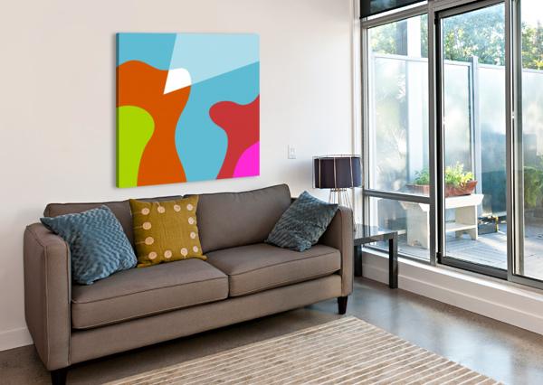THE VALLEY WPAPRINT  Canvas Print